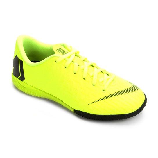 9e2e8e15cf Chuteira Futsal Infantil Nike Mercurial Vapor 12 Academy GS IC - Verde+Preto