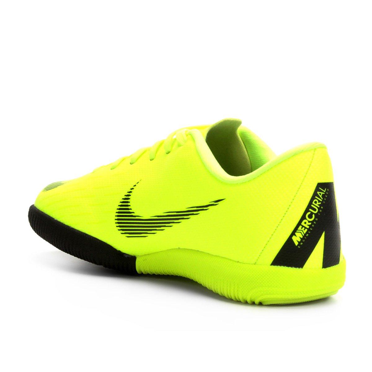 f5e22d7d38aac ... Foto 2 - Chuteira Futsal Infantil Nike Mercurial Vapor 12 Academy GS IC