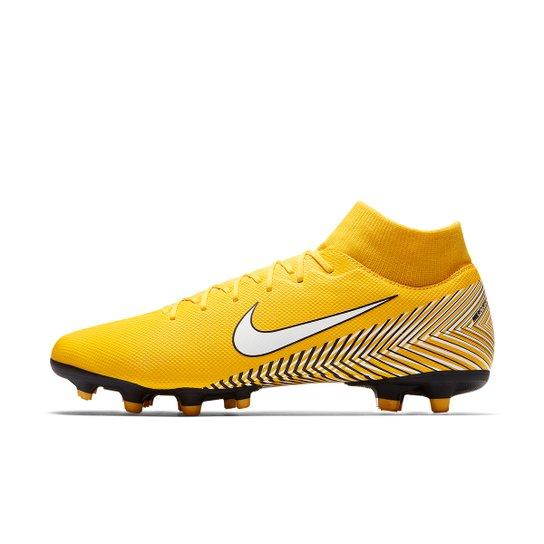 Chuteira Campo Nike Mercurial Superfly 6 Academy Neymar FG - Amarelo+Preto 49bb50ae3aaab