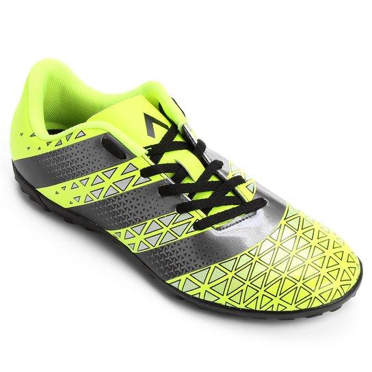 Chuteira Society Adidas Artilheira TF Masculina - Verde Limão+Preto 643c3a0c3604b