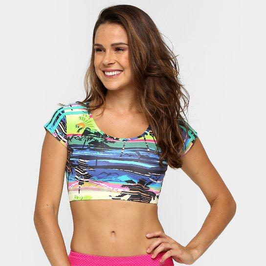 e5db9028ba9 Camiseta Cropped Adidas W G2 Salinas Feminina - Compre Agora