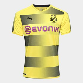 d0185a06be -17%. (2). Camisa Borussia Dortmund Home 17 18 s n° Torcedor Puma Masculina