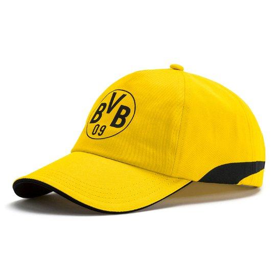 8ccd0433f8e0c Boné Puma Borussia Dortmund Aba Curva Training - Compre Agora