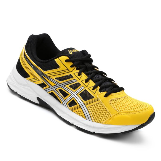 2e25a665dae76 Tênis Asics Gel Contend 4 A Masculino - Amarelo e Preto | Netshoes