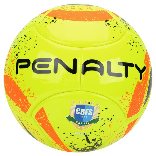 Bola Futsal Penalty Max 400 Termotec 7 CBFS - Amarelo+Laranja 19441beb877fe