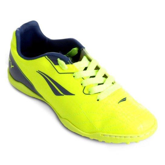 8091d91754db7 Chuteira Society Infantil Penalty Soccer Matis VIII - Amarelo e Azul ...
