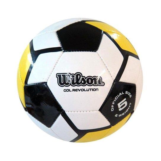 aa8e07373 Bola de Futebol Gol Revolution  5 - Wilson - Compre Agora