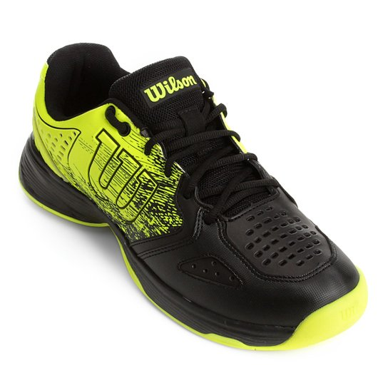 316a9b7c566 Tênis Wilson K Ultimate Masculino - Amarelo e Preto - Compre Agora ...