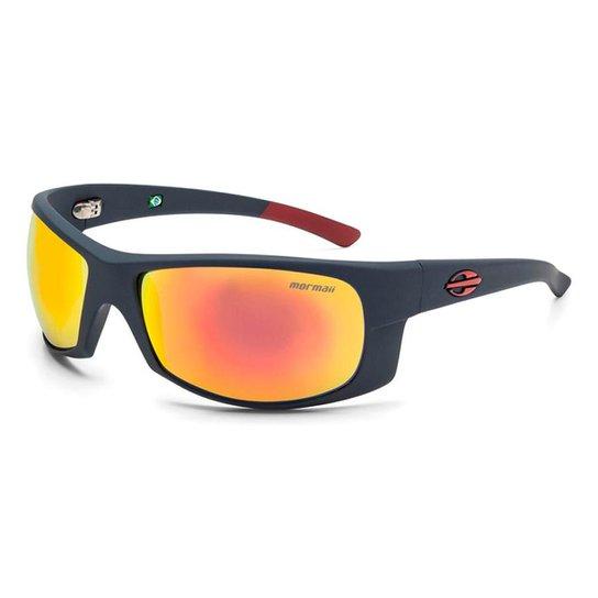 92c5827598576 Óculos De Sol Mormaii Acqua Emborrachado - Cinza e Vermelho - Compre ...