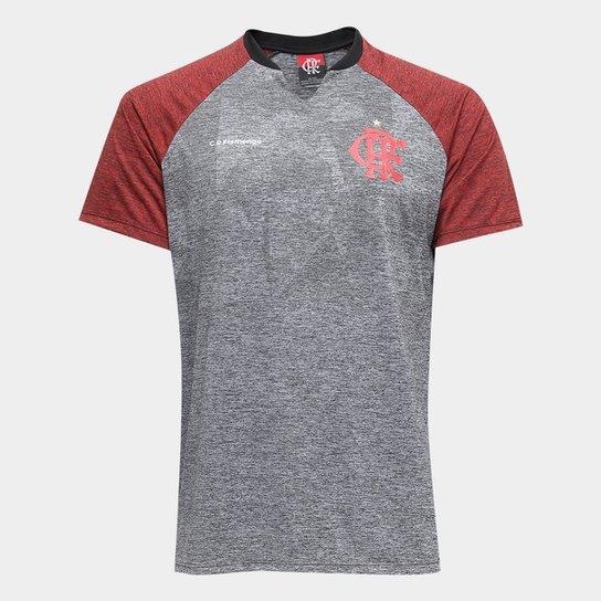 Camiseta Flamengo Nitta Masculina - Cinza e Vermelho - Compre Agora ... 938460014f80e