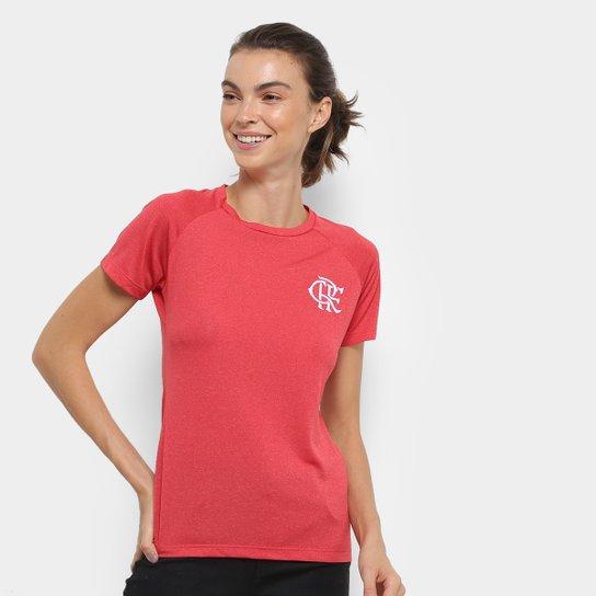 Camiseta Flamengo ADT Feminina - Vermelho - Compre Agora  21759f53dcbcc