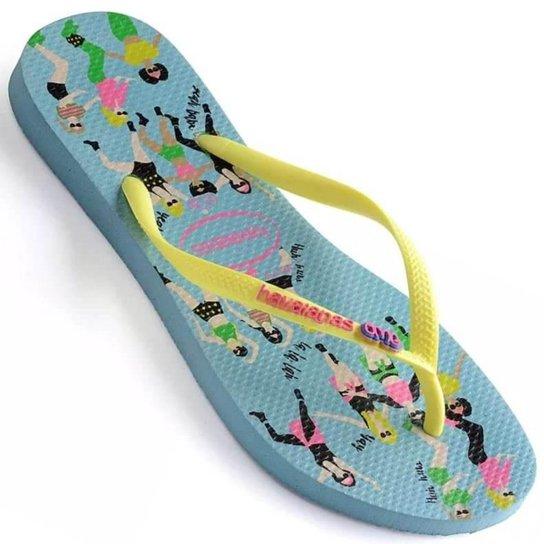 755762a358 Chinelo Havaianas Slim Cool Feminino - Compre Agora