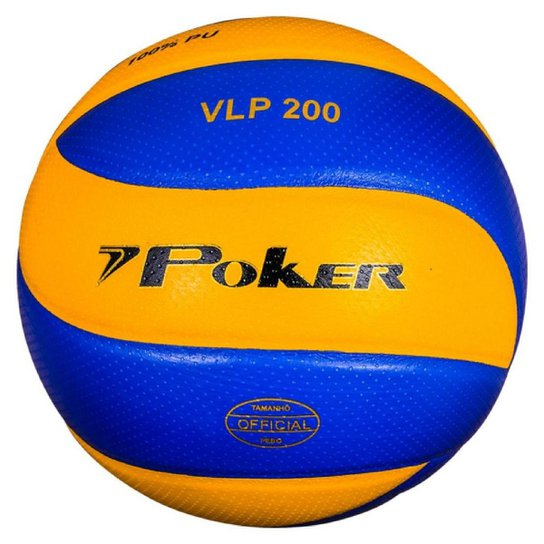 f1428abe2a Bola Volei Poker Vlp 200 - Compre Agora