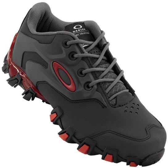 a41d040a8 Tênis Oakley Bravo 2.0 Masculino - Cinza e Vermelho - Compre Agora ...