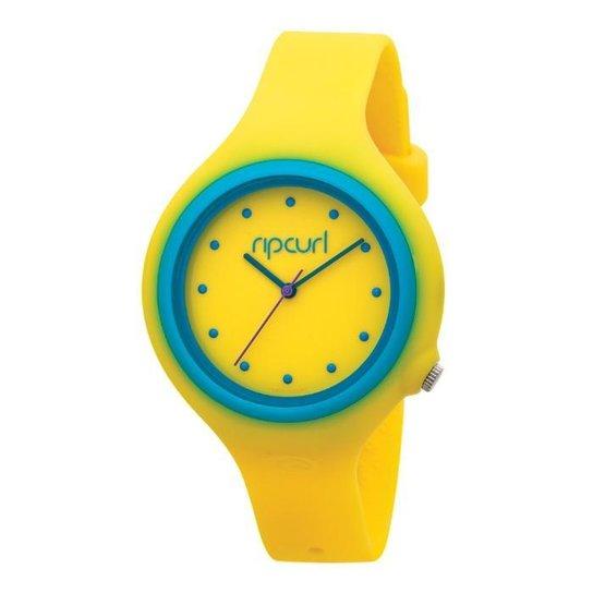 cfb3d9c4953 Relógio De Pulso Ripcurl Aurora - Amarelo e Azul - Compre Agora ...
