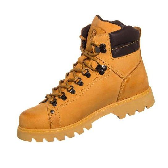 83ba6ce2e6 Bota West Coast Worker Classic - Amarelo+Marrom