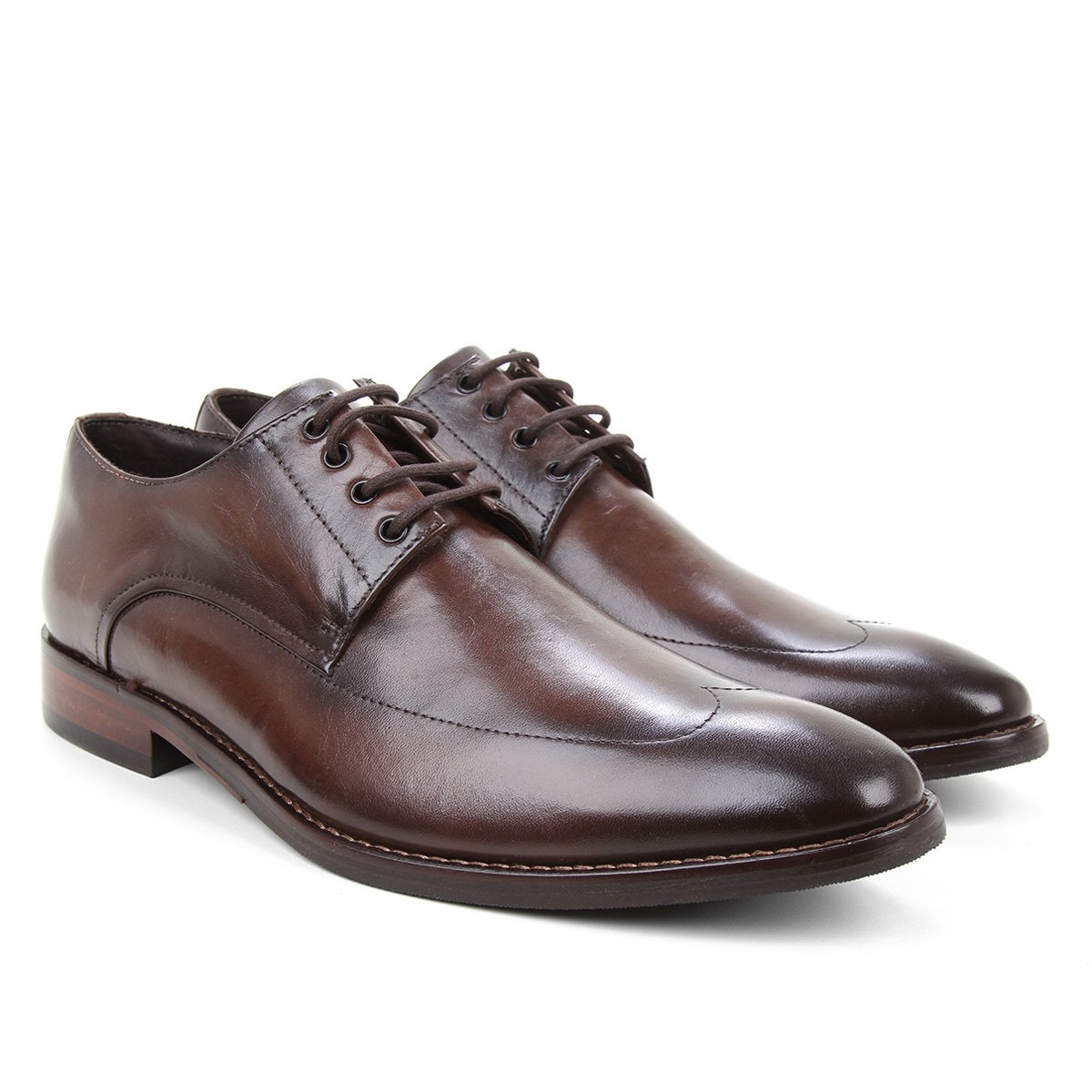 Sapato Social Couro Ferracini Caravagio Masculino