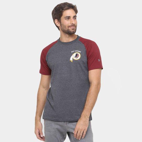 772702d8d7 Camiseta New Era NFL Division Washington Redskins - Compre Agora ...
