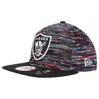 Boné New Era 950 OF SN Team Craze Snap Oakland Raiders 917651a9ed8