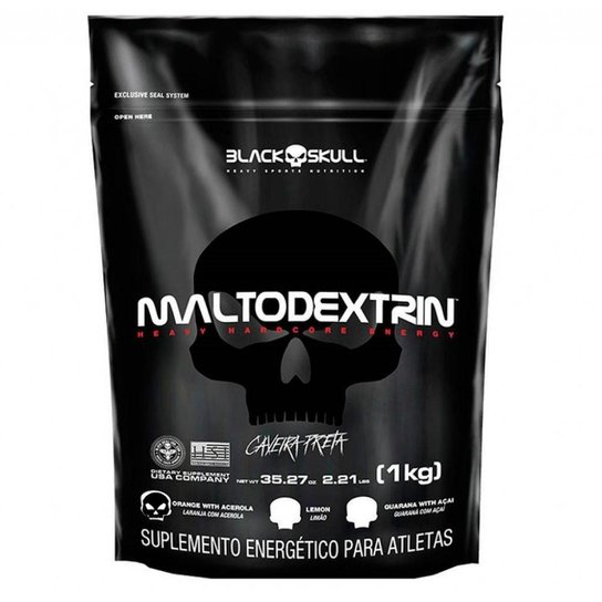 e8324bf46e01d Maltodextrin 1kg - Black Skull - Laranja e Acerola - Compre Agora ...