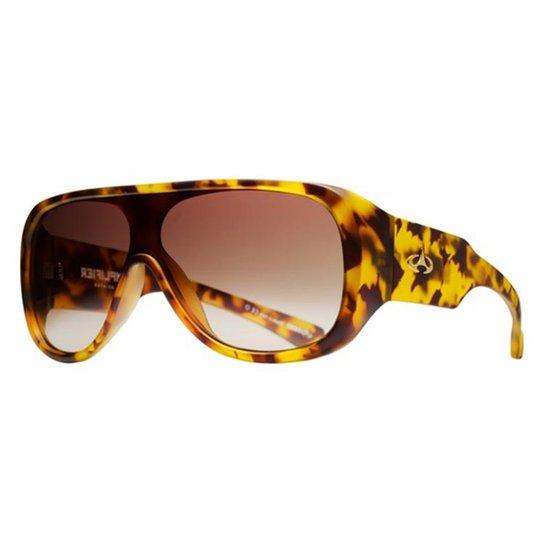 Óculos de Sol Evoke Amplifier Aviator Blonde Turtle Gradient - Amarelo+Preto 5b6141f40f