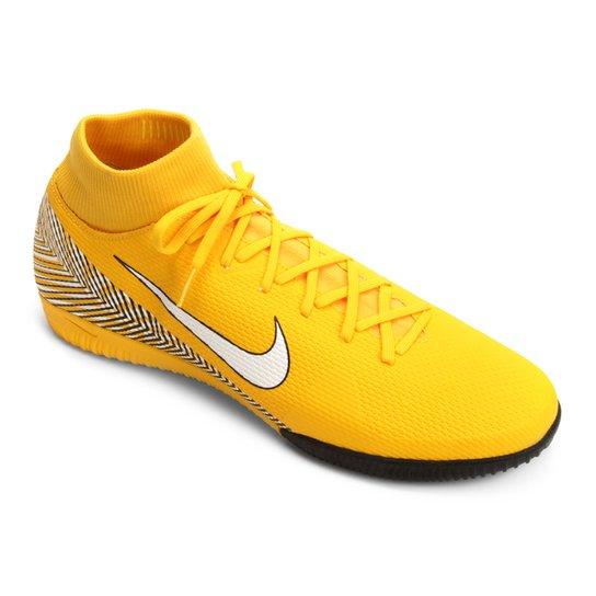 dda8a3cbdc Chuteira Futsal Nike Mercurial Superfly 6 Academy Neymar IC - Amarelo+Preto