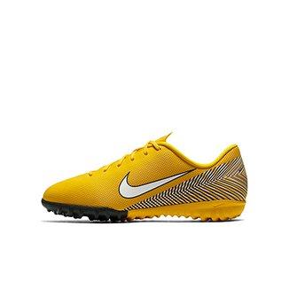 2a5d5fdf1258d Chuteira Society Infantil Nike Mercurial Vapor 12 Academy GS Neymar TF