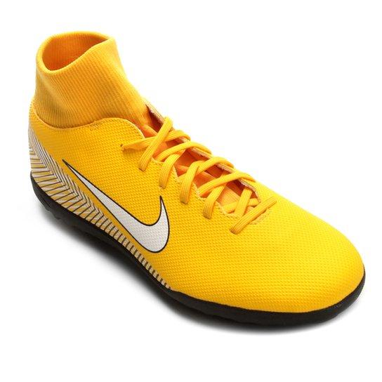 9e7f26a736098 Chuteira Society Nike Mercurial Superfly 6 Club Neymar - Amarelo e ...