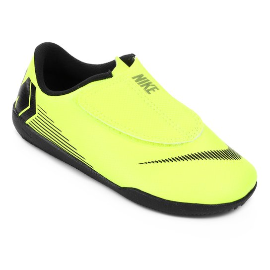 37779ba718 Chuteira Futsal Infantil Nike Mercurial Vapor 12 Club PS IC - Amarelo+Preto