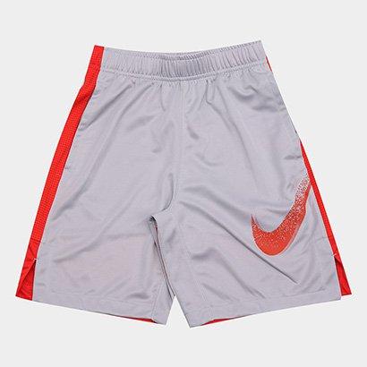 Short Infantil Nike B Dry Dominate Gfx Masculino