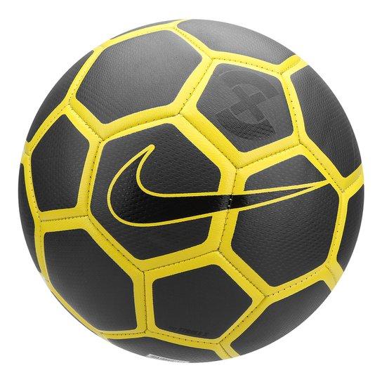 d79da78f5158 Bola de Futebol Campo Nike Strike X - Amarelo+Preto