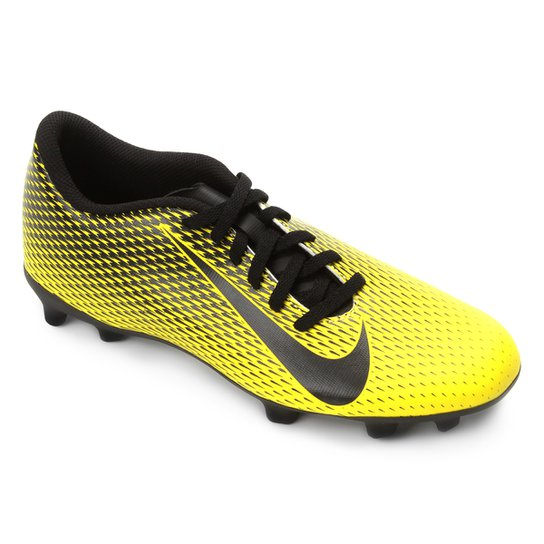 5a7db0ad5d Chuteira Campo Nike Bravata II FG - Amarelo e Preto