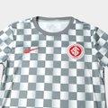 b62d09655c11c Camisa Internacional Pré Jogo 19 20 Nike Masculina - Cinza e ...