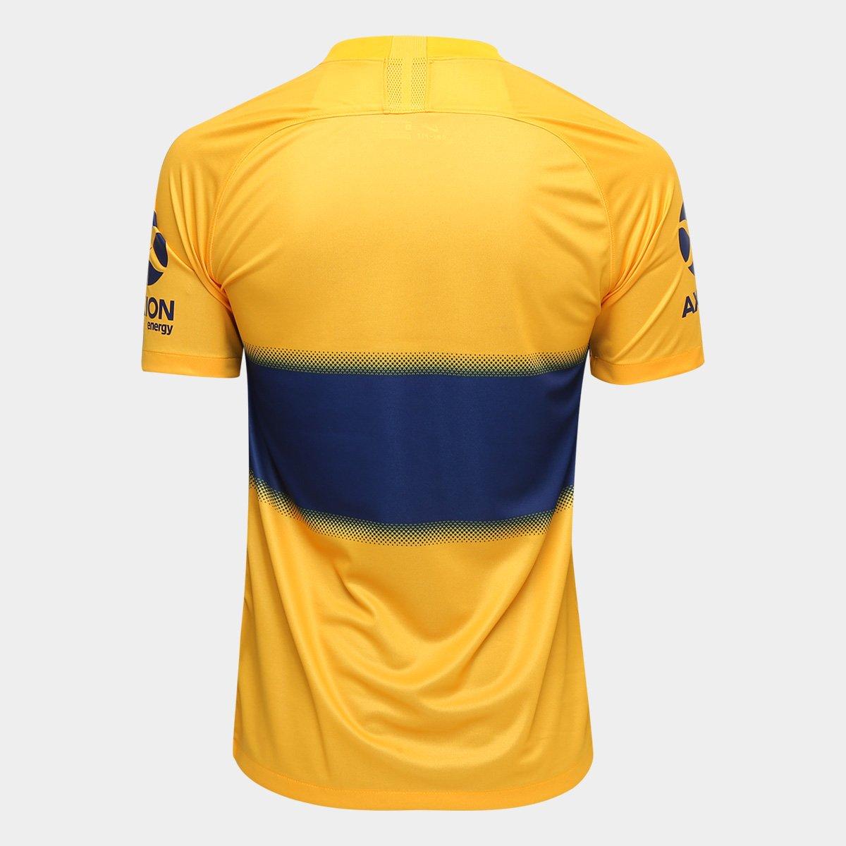 Camisa Boca Juniors Away 19/20 s/nº Torcedor Nike Masculina - Tam: EGG - 1