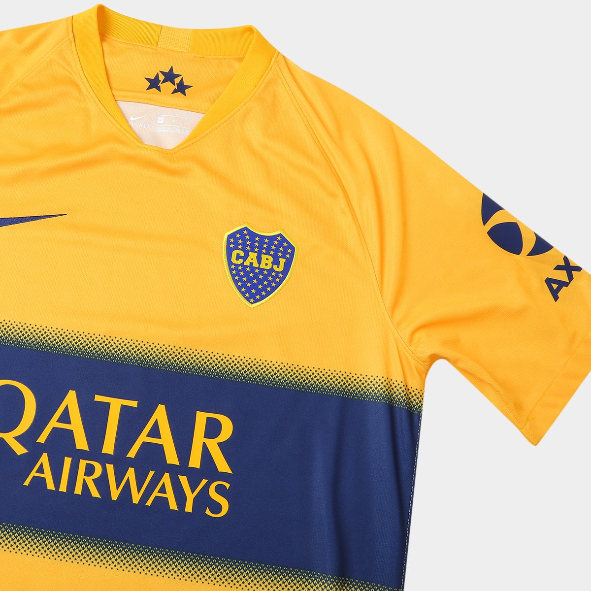 Camisa Boca Juniors Away 19/20 s/nº Torcedor Nike Masculina - Tam: EGG - 3