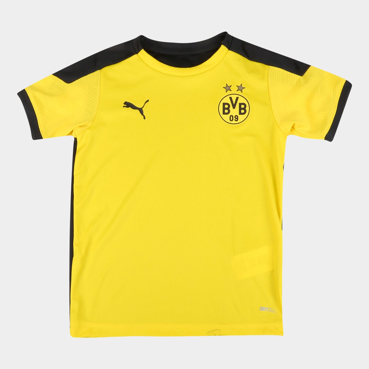 Camisa Borussia Dortmund Juvenil Treino 20/21 Puma