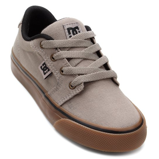 7e0ea6d833 Tênis Infantil DC Shoes Anvil Tx La Masculino - Cinza Claro - Compre ...