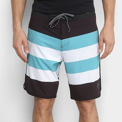 Boardshort Lost Stripes Masculino