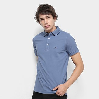 ec0d51dd52 Camisa Polo Tommy Hilfiger Slim Masculina