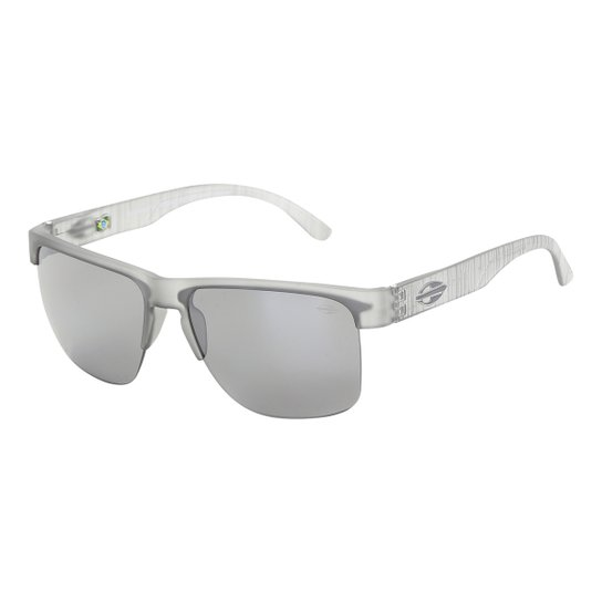 1f8ed55ac Óculos de Sol Mormaii Monterey Fly Fosco Masculino - Cinza Claro