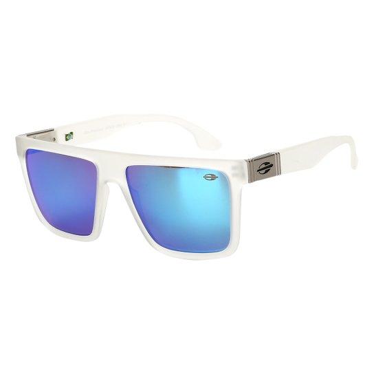 67d8c87568aad Óculos de Sol Mormaii Espelhado San Francisco Masculino - Cinza Claro