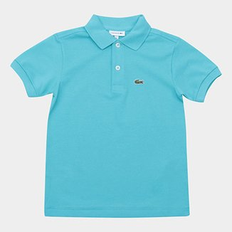 0ba892493 Camisa Polo Infantil Lacoste Masculina