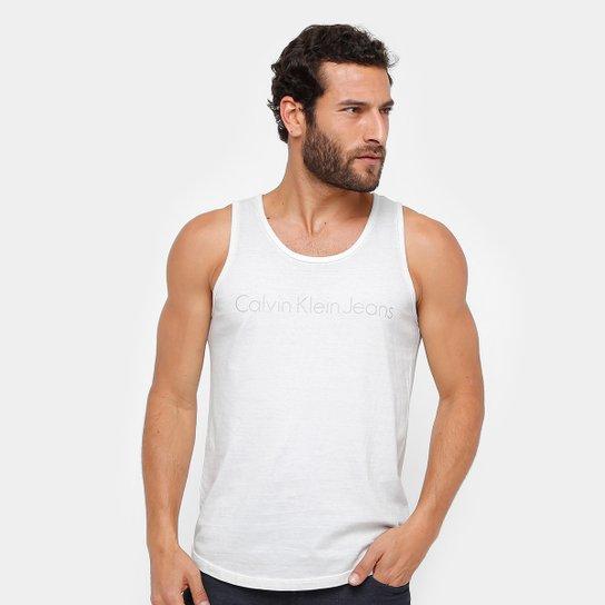 15ac07999ddb7 Regata Calvin Klein Tinturada Stone Masculina - Compre Agora