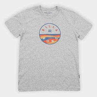 Camiseta Infantil Billabong Estampa Logo Rotor Fillbk Masculina 9735d6b7bfc