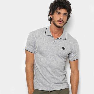 c56dd2f72 Camisa Polo RG 518 Meclada Básica Masculina