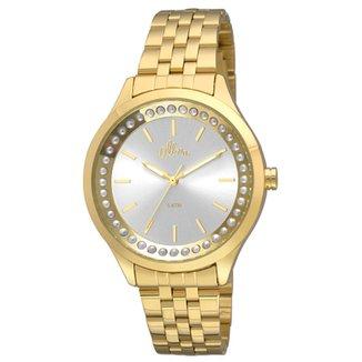 819324697a6 Relógio Allora Feminino Flor da pele