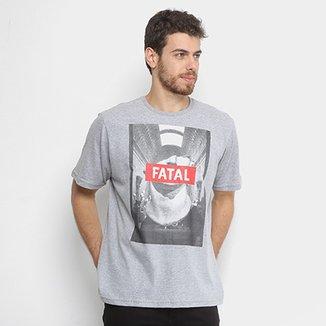 Camisetas Fatal Masculinas - Melhores Preços  2ecc851f1bc