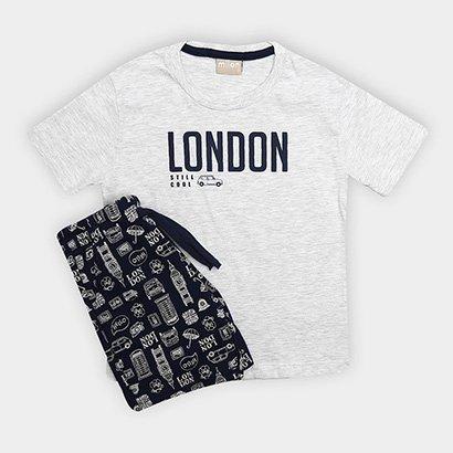 Conjunto Infantil Milon London Masculino