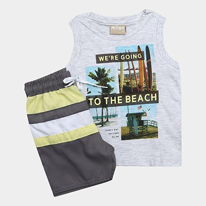 Conjunto Infantil Milon To the Beach Masculino