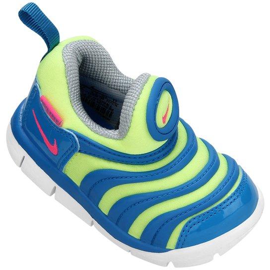 a7314208d Tênis Infantil Nike Dynamo Free - Verde e Azul - Compre Agora